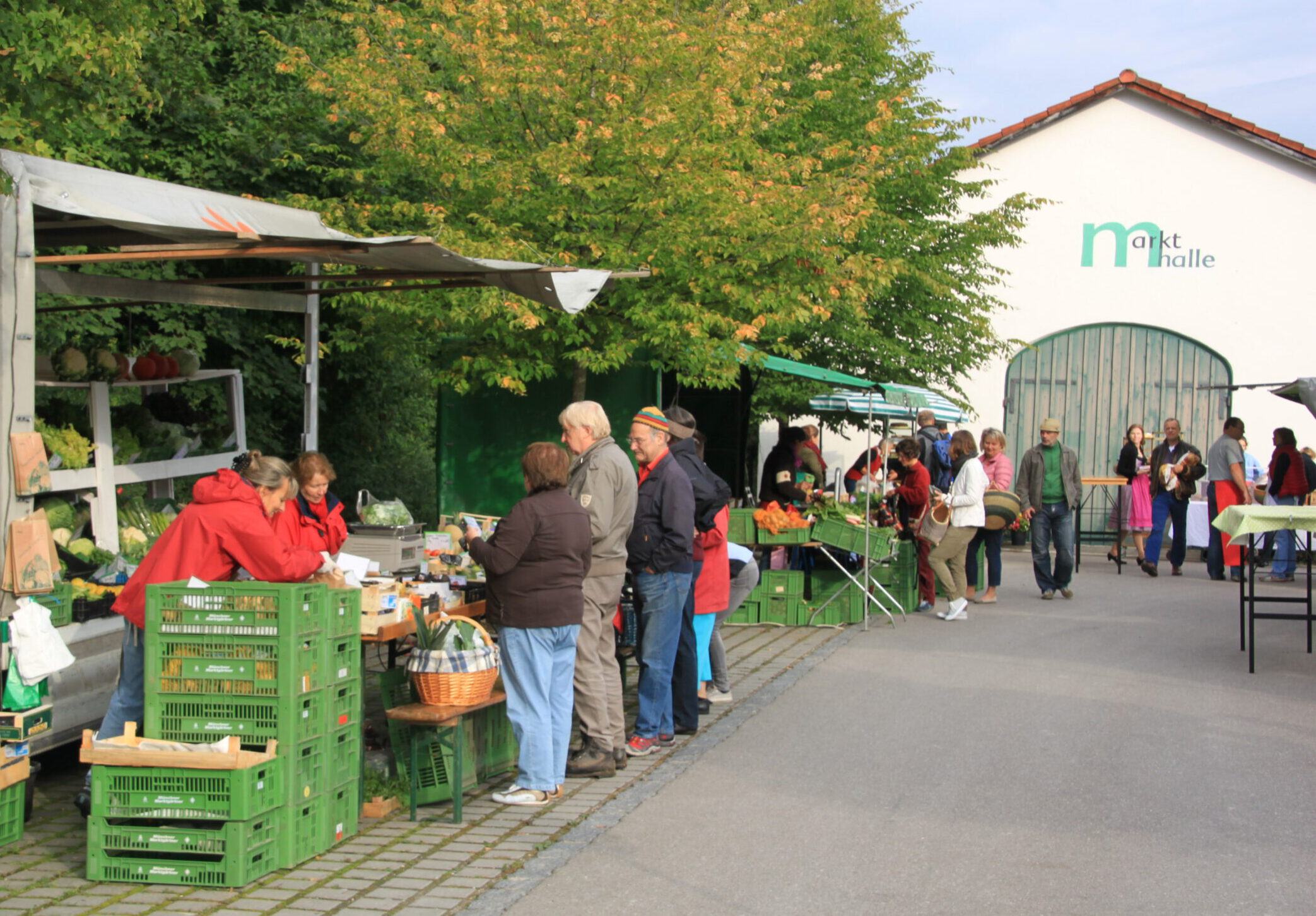 Markt draußen